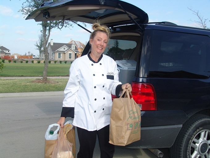 a day in the life of a personal chef includes going to work at a client's home
